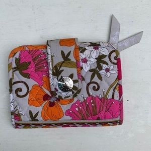 Vera Bradley floral wallet